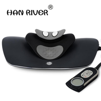 Cervical massage instrument neck, waist and shoulder multi function whole body heating household electric knead hot compress