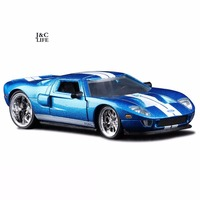 1 32 The Fast And Furious Ford GT Car Model Metal Alloy Diecasts Toy Vehicles Model