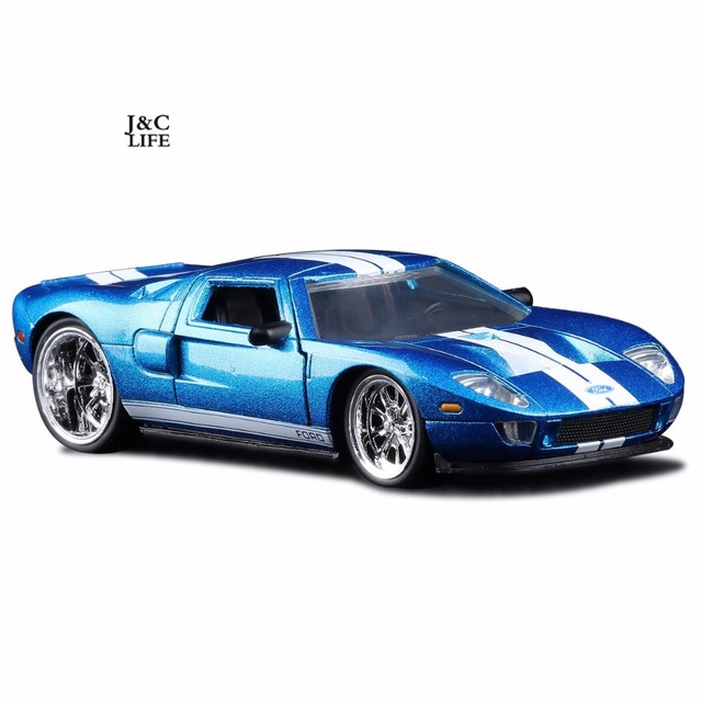 The Fast And Furious Ford Gt Car Model Metal Alloycasts Toy