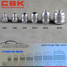 4pcs AN -10 AN10 Male Aluminium Adapter Weld Bung Nitrous Hose Fitting Tank Cell(China)
