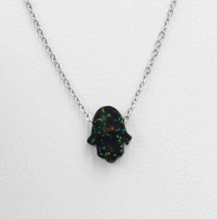 13mm ze stali nierdzewnej Faux Druzy Drusy naszyjnik sztuczna kryształowy kamień żywica Cabochon ręcznie naszyjnik dla kobiet biżuteria 1 sztuk dużo