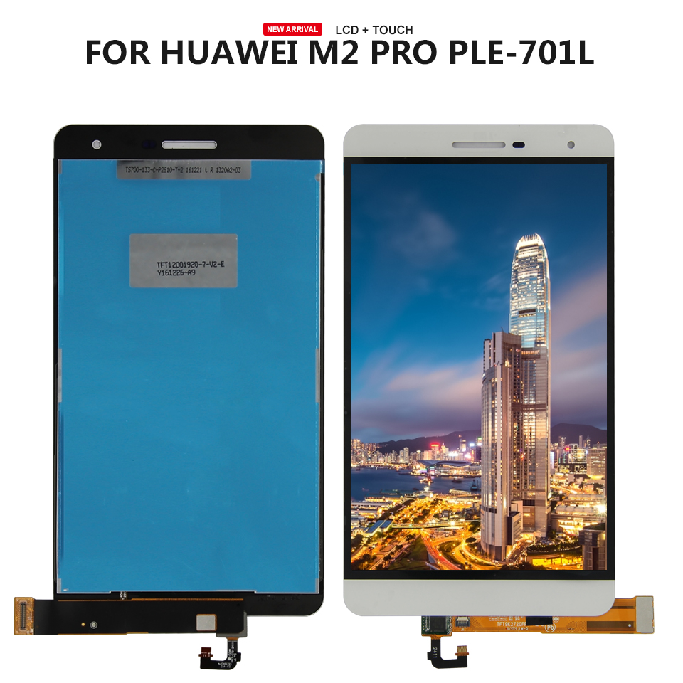 7.0 inch For Huawei MediaPad M2 Lite / MediaPad T2 Pro 7.0 PLE-701L PLE-703L LCD DIsplay + Touch Screen Digitizer Assembly7.0 inch For Huawei MediaPad M2 Lite / MediaPad T2 Pro 7.0 PLE-701L PLE-703L LCD DIsplay + Touch Screen Digitizer Assembly