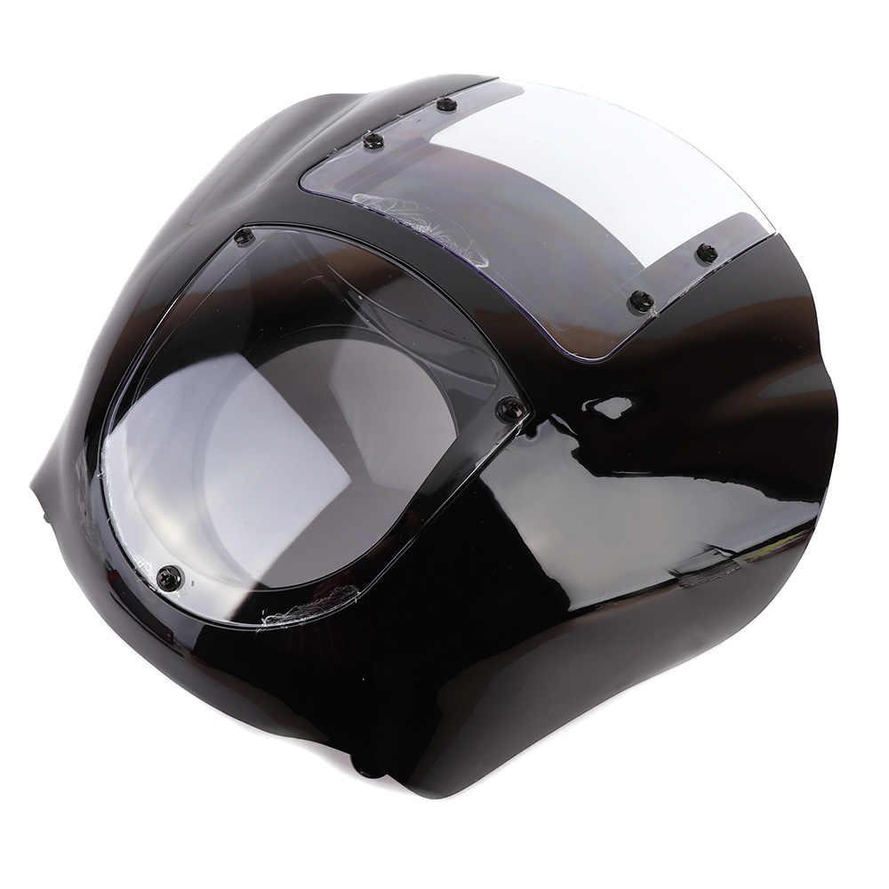 Detachable Quarter Headlight Fairing Kit For Sportster FXR 1986-1994 Dyna  1995-2005 For 883 Fat Bob Super Glide
