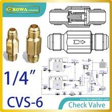 """1/"""" резьбовой Соединительный обратный клапан или все обычно используемые хладагенты и холодильные приложения заменить danfoss NRV клапаны"""