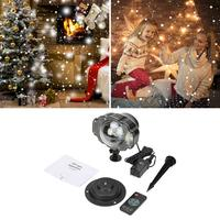 Lamp Projector Mini Party Outdoor Christmas LED White Light Snow Light House Mini Snow Light