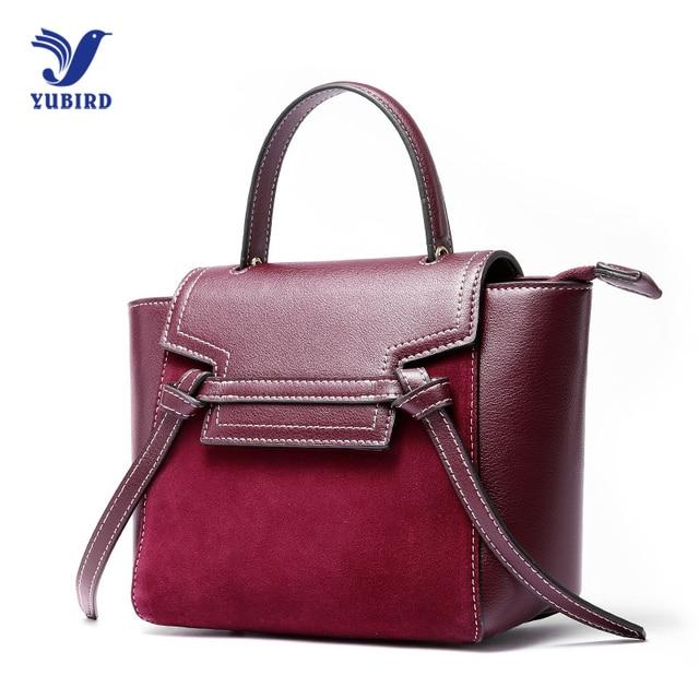 Yubird Fashion Genuine Leather Bag Female Brands Luxury Handbags Women Bags Nubuck Designer Shoulder Crossbody Messenger
