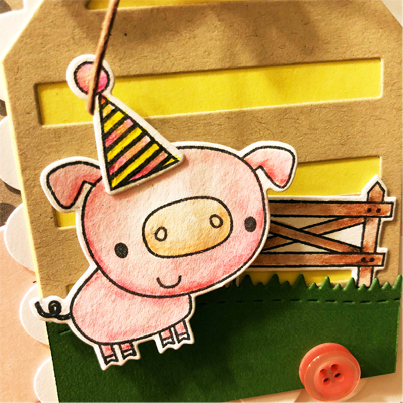 YaMinSanNiO Piggy Metal Cutting Dies Scrapbooking Decor Album Paper Card Making Birthday Gift Craft New 2019 Stencil Embossing