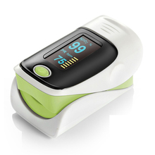 Oximeter a finger with carrying case Digital finger oximeter, OLED pulse oximeter display pulsioximetro SPO2 PR oximetro de dedo ems free shipping cms60d vet use pulse oximeter veterinary oximeter for amimals pets with usb software