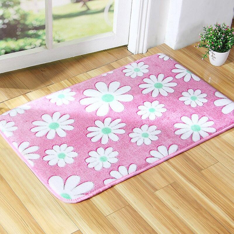 Coral Velvet Floor Mats Bedroom Carpet Door Warehouse Rug Living ...