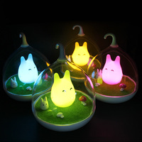 New Brand LED Night Light For Children Night Lamp DC 5V LED Nachtlampje Cute Cartoon Lampara