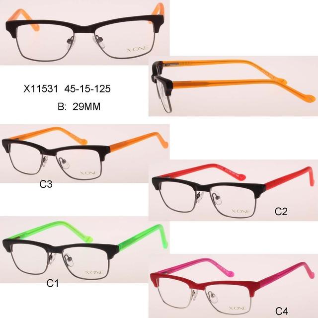 2016 nuevo niño Ordenador marcas ea7 protección gafas muchacho niño de la vendimia miopía óptica eyeglassesgirl puntos mujeres oculos feminino