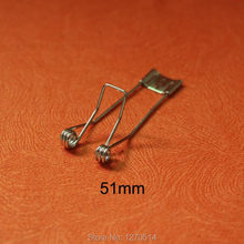 Lighting-Accessories Spring-Clip Led-Ceiling-Lamp Fixed for Spotlight Length 51mm 10pcs/Lot