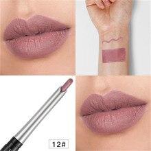 Pudaier 4D Automatic Rotation Velvet Matte Lipstick Pen Lips Makeup