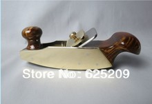 Fashional New rosewood and art brass 5 1/2″ convex bottom planes woodworking luthier tools shell dot inlay