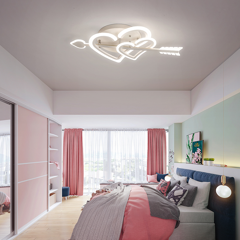 Love God Wedding Room Bedroom Lamp Warm Romantic Led Ceiling Lamp Creative Simple Modern Cute Room Children S Lamps Ceiling Lights Aliexpress