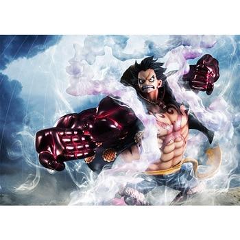 Anime One Piece SA-MAXIMUM P.O.P the Bound Man Luffy Figure Model Toys
