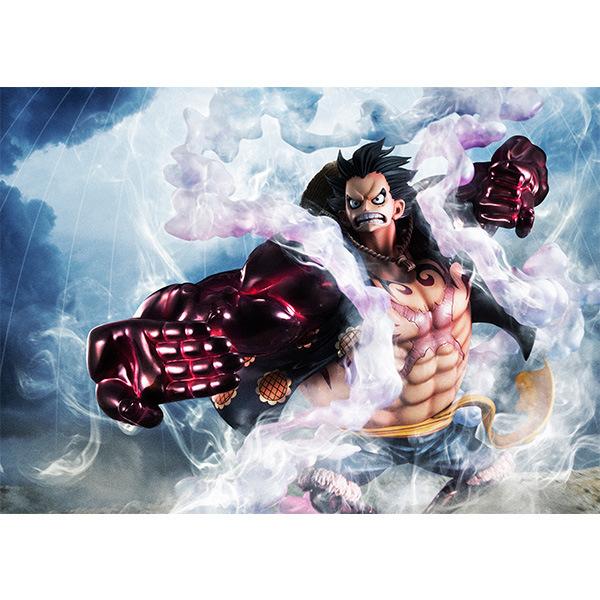 Anime One Piece Bound Man Luffy
