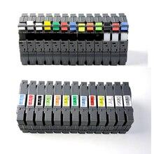 """10 шт смешанные tz лента для brother P-Touch PT-H100 PT-H105 PT-D200 TZe231 tze335 tze-135 tze-731 tze ленты 1/"""" x 26.2ft 12 мм х 8 м"""
