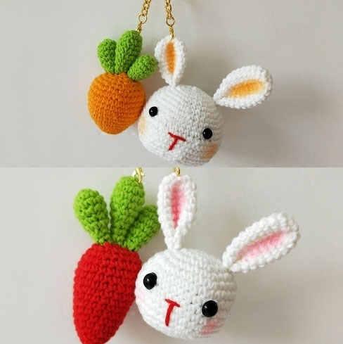 Ravelry: Amigurumi Mini Bunny pattern by Mevlinn Gusick | 489x488