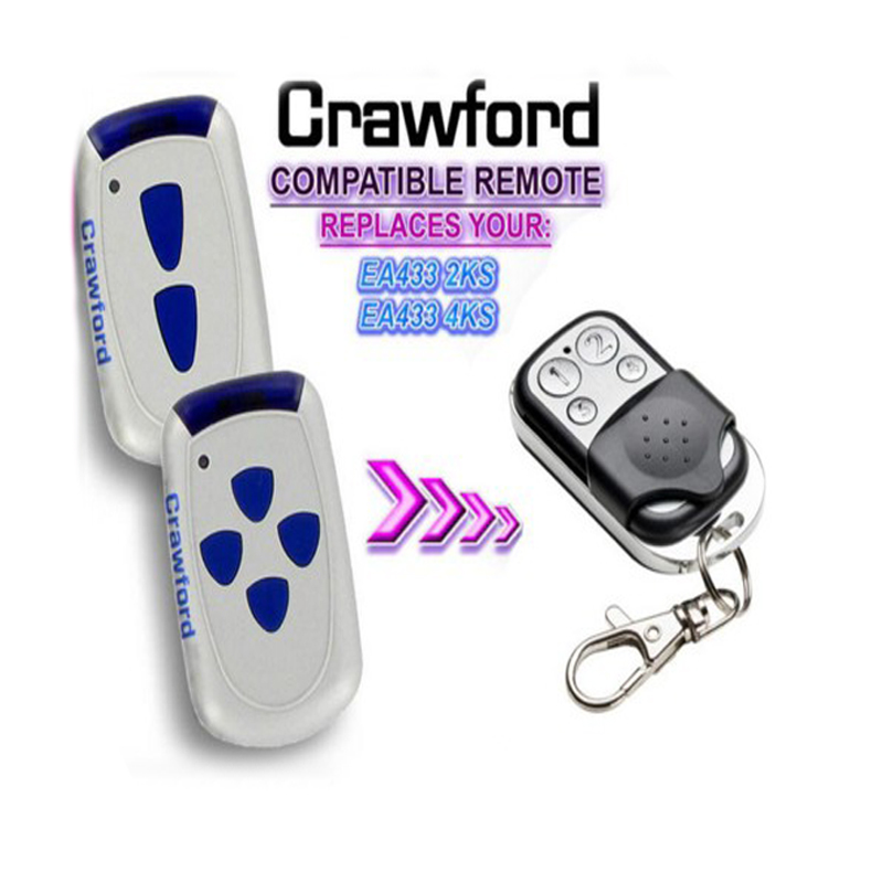 Aftermarket Crawford remote EA433 2KS,EA433 4KS replacement garage door remoteAftermarket Crawford remote EA433 2KS,EA433 4KS replacement garage door remote