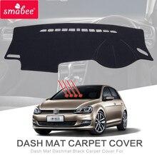 for VW Golf 7 Dashboard Mat Anti-Slip Mats Car Accessories for Volkswagen Golf Mk7 VII 5G GTI R 2013 2014 2015 2016 2017 LHD RHD