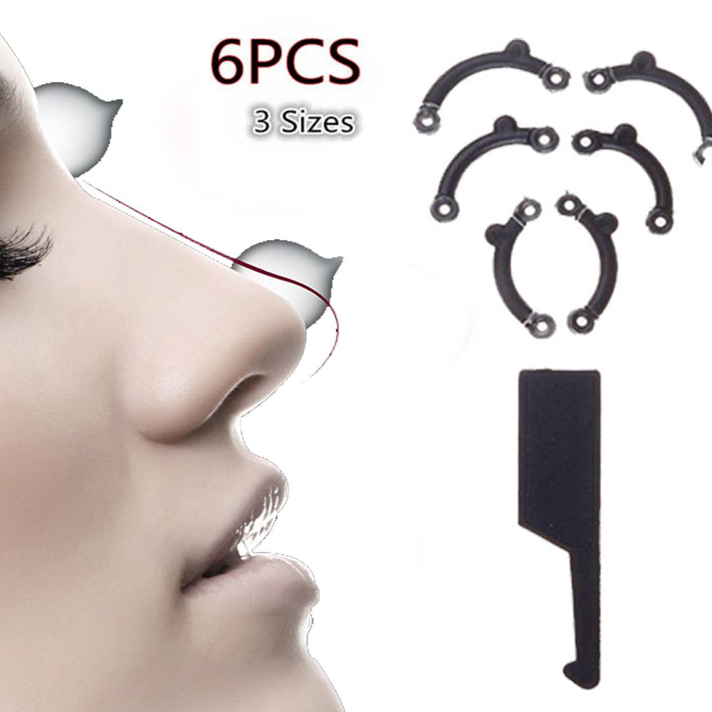 Hot Sale New 3 Size in 1 Secret Nose Up Lifting Shaping Clip Clipper Shape Beauty Tool Set