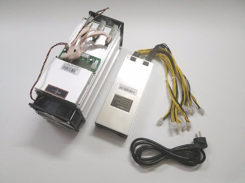 Utilizzato ASIC Minatore AntMiner S9 14TH/S SHA256 Con PSU BTC BCH Minatore Meglio di Antminer S9 13.5 T t9 + S11 S15 WhatsMiner M3