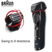 Shaver Electric-Razor Triple-Head Braun Reciprocating Rechargeable-Blades 5030s for Men