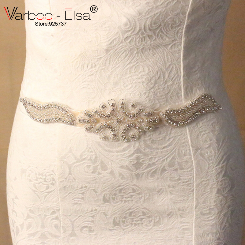 New Cheap Bridal Sashes Handmade Crystals Beads Bling Wedding Accessories Sash Belts For Wedding Dresses Free Shipping