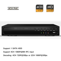 4CH HD IP 1080P Realtime Record HDMI P2P 4 POE CCTV Security Network NVR
