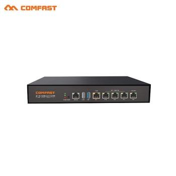 Comfast Gigabit AC Gateway Routing + 4 port poe switch Wifi Load balancing Multi Wan Wi fi Roaming Access gigabit AC wifi Router