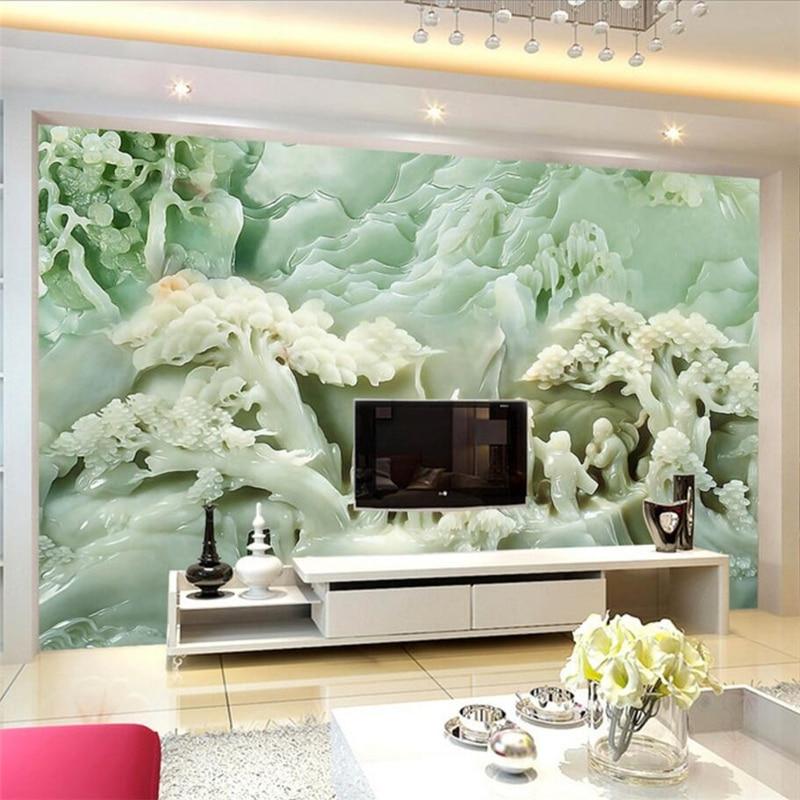 aliexpress.com : eibehang wohnzimmer benutzerdefinierte tapete 3d ... - Interieur Design Dreidimensionaler Skulptur