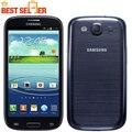 Abierto original samsung galaxy s3 i9300 android quad core nfc del teléfono cámara de 8mp 4.8 ''gps wifi 3g reformado envío libre