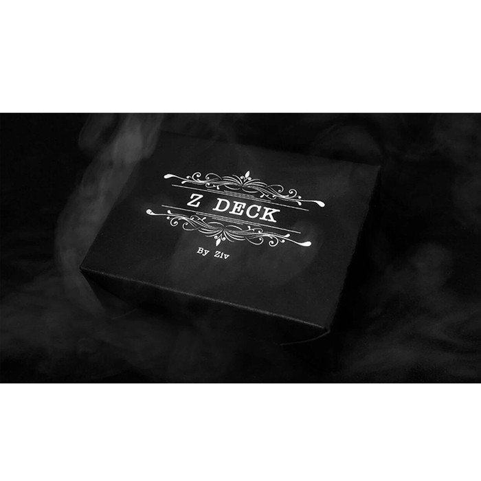 Z DECK By Ziv (Decks And Online Instructions) - Card Magic Tricks Gimmick Illusions Close Up Magic Mentalism Fun Magician Cards