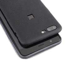 OnePlus 5 чехол серый матовый catman Оригинальный Мягкий задняя крышка OnePlus 5 Чехол черный Капа Coque принципиально один плюс 5 Чехол 1 + 5 5.5″
