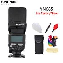 YONGNUO YN685 N/C Flash HSS 2.4G GN60 bezprzewodowy mistrz/Slave Speedlite TTL lampa błyskowa do canona aparat Nikon