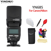 YONGNUO YN685 N/C Flash HSS 2.4G GN60 Wireless Master/Slave Speedlite TTL Speedlight for Canon Nikon Camera