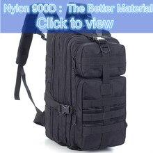 30L 900D Nylon Outdoor Sports Taktikai hátizsák Kemping Férfi katonai táska Kerékpározáshoz Túrázás Hegymászás Utazási hátizsák