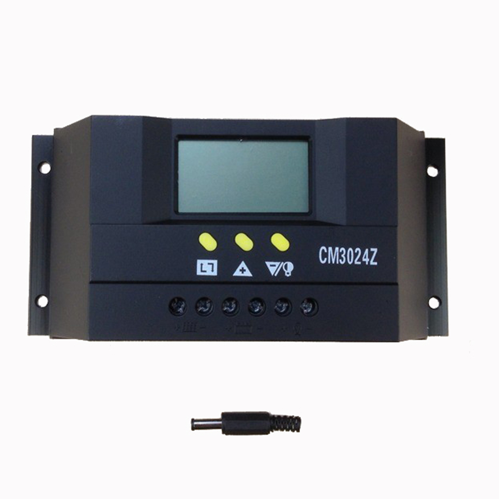 MAYLAR 12V 24V Auto 48V 30A PWM Solar Panel Battery Charge Controller Solar PV Regulator with LCD Display maylar 30a pwm solar panel charge controller 12v 24v auto battery regulator with lcd display