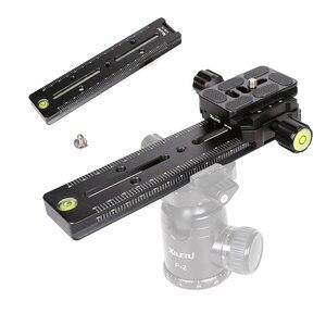 Image 3 - XILETU Kit de placa de liberación rápida LSB 18B, Riel de trípode de diapositivas Nodal de 180mm, accesorio de fotografía Universal multifuncional