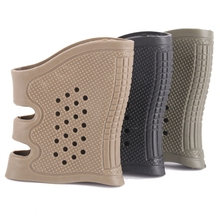Hunting Gun Accesories Tactical Handgun Rubber Protect Cover Grip Glove Anti Slip Glock Holster 3Colors For