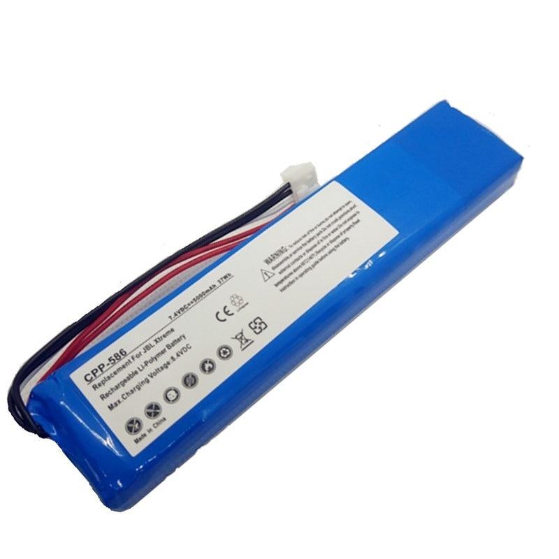 Para jbl xtreme bateria jblxtreme jogador bateria li polímero recarregável acumulador bloco substituição gsp0931134 7.4 v 5000 mah