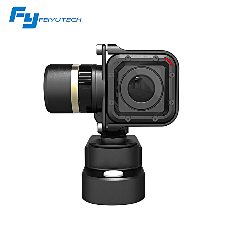Prix pour Feiyu fy wgs portable 3 axes brushless vente chaude gopro session métal stabilisateur cardan wgs portable cardan