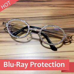 2019 Хип-Хоп Ретро небольшие круглые солнцезащитные очки Для женщин Винтаж стимпанк Солнцезащитные очки Для мужчин прозрачные линзы