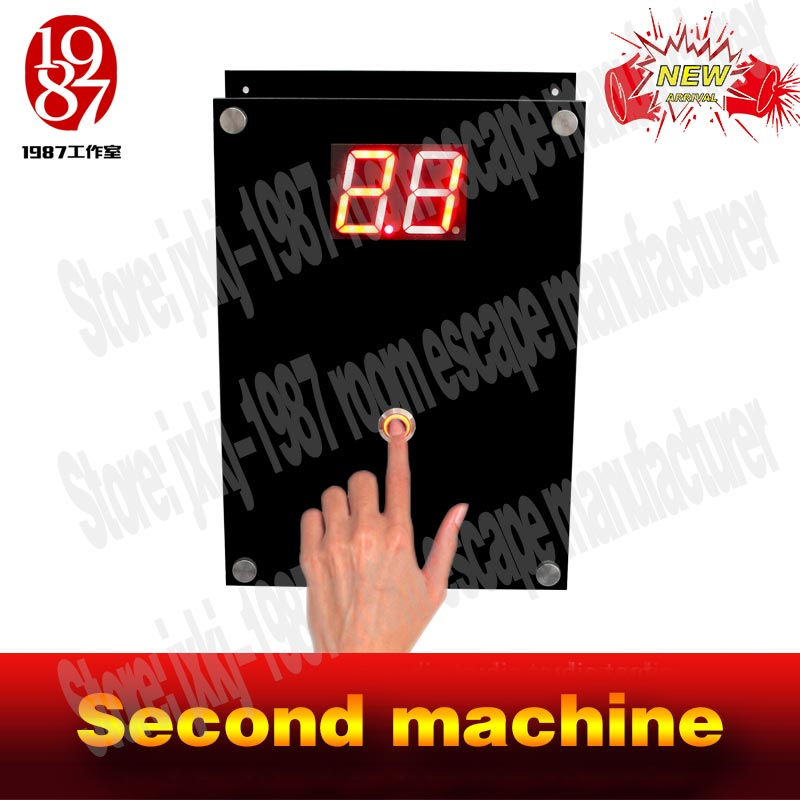 hotTakagism game product  new hot real life  escape prop jxkj-1987 catch the second  second machine to run away from chamer room