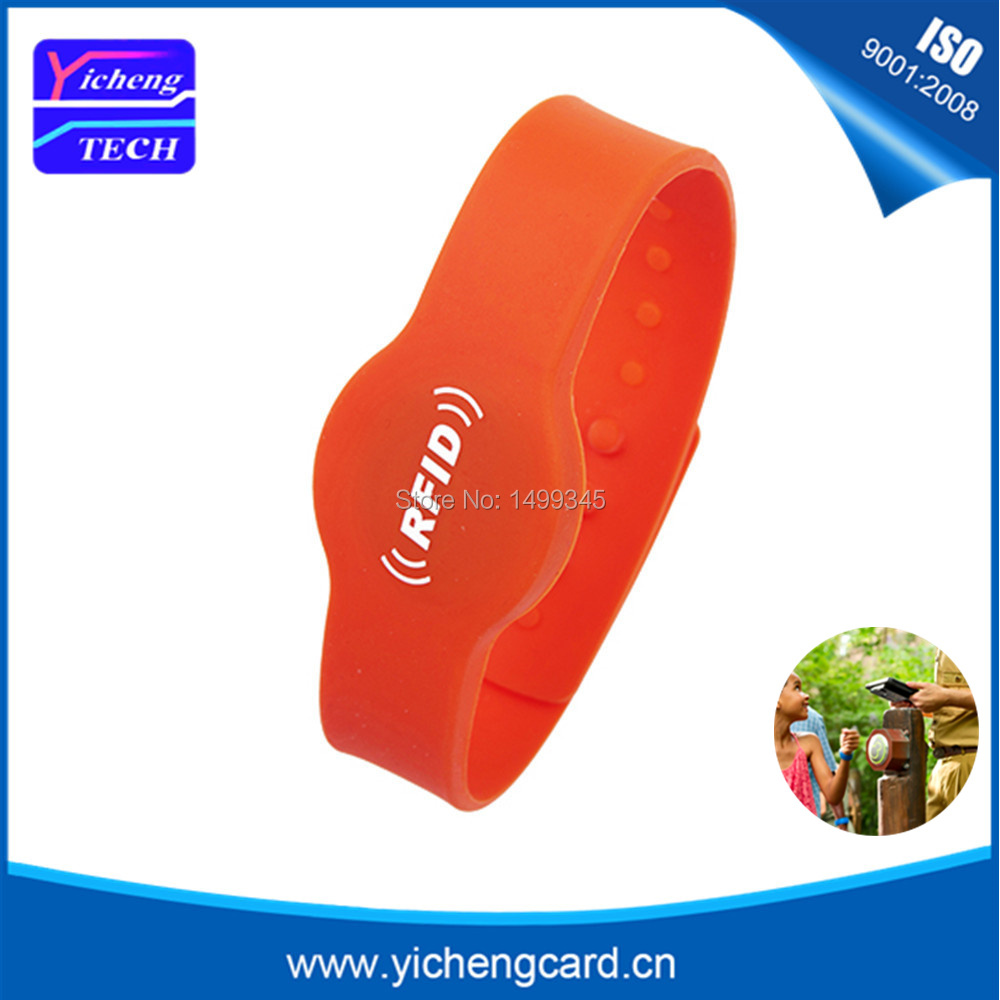 Security & Protection Access Control Clever 13.56mhz Mf Classic 1k S50 F08 Nfc Tags Iso14443a Silicone Nfc Wristband Bracelet For Swimming Pool Sauna Room Gym Durable In Use
