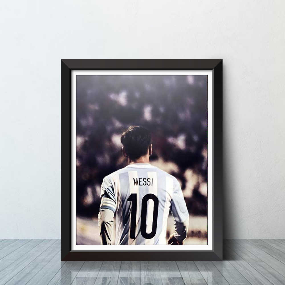 4fd8647ee Detail Feedback Questions about Lionel Messi Barcelona Argentina Soccer  Sport Poster Football Contemporary Modern Art Print Home Wall Decor on ...
