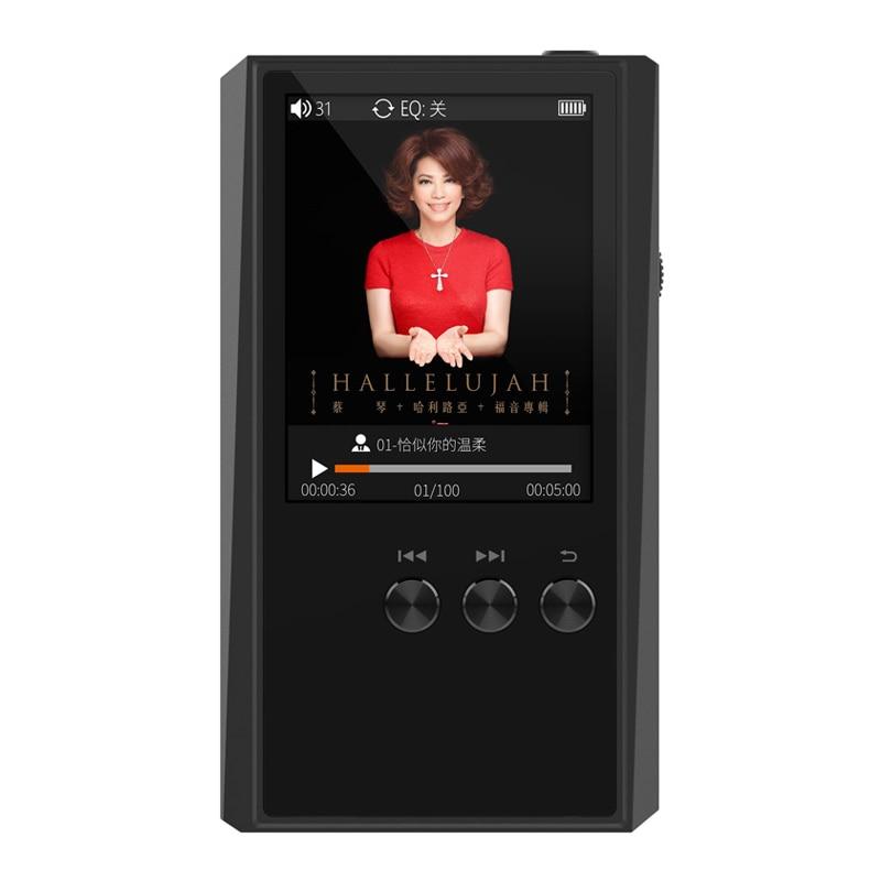 Portable Mini HIFI Sans Perte MP3 Musique Lecteur HD DSD 64 256 FLAC ALAC APE Sport Numérique Audio 24Bit 192 Khz DAC Voiture Lecteur 16 GB