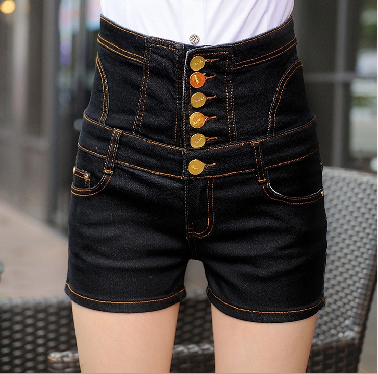 Popular High Waisted Shorts Botton-Buy Cheap High Waisted Shorts ...