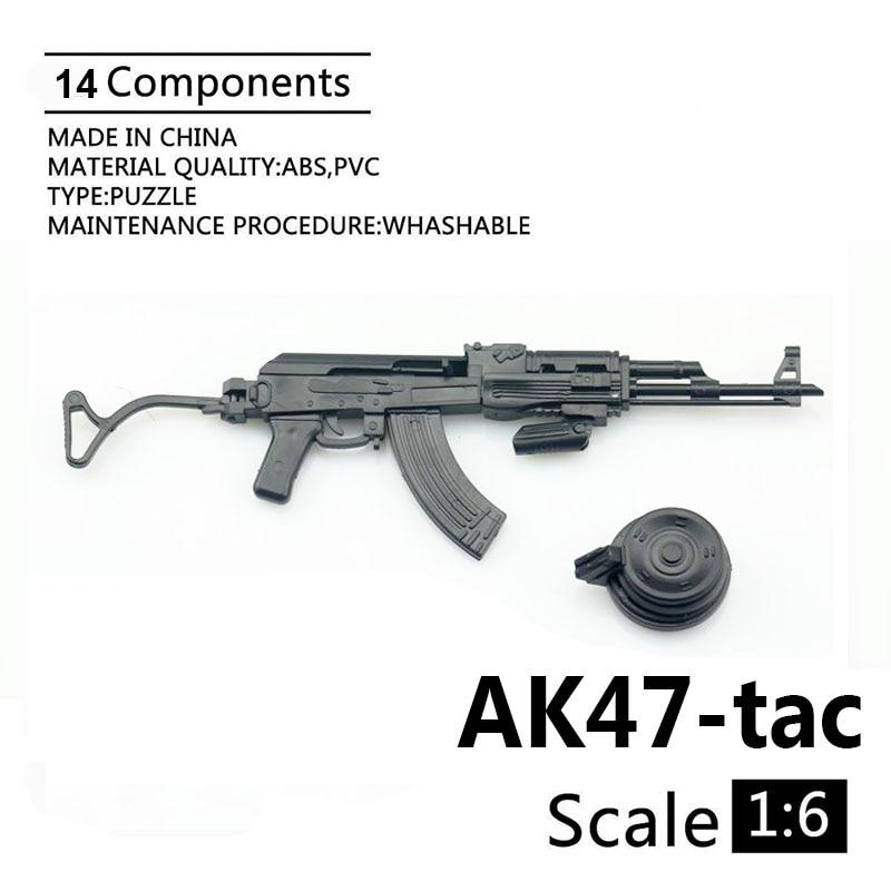 1:6 Soldier 4D Assembly Model AK47 AKM Model